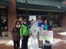 Awesome ice sculpture!
